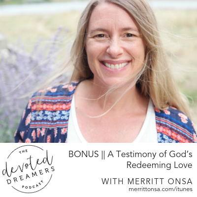 When the dream looks different than you thought it would | Merritt Onsa | Ep. 73